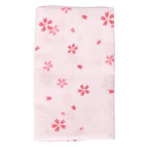 ガーゼ手ぬぐい ハンカチ サクラ1(ピンク) 日本製 和柄 送料無料