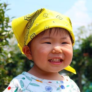 コットン100%の日本製 大阪の泉州で製造され、しっかりした縫製のバンダナです。  アレンジ自由な万...