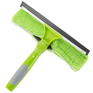 2WAYハンドワイパー マイクロファイバーブラシ 水切りスキージー 掃除用品 WY wystyle