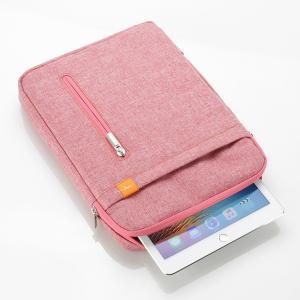 iPad タブレットPC収納ケース ピンク 手提げ バッグ ...