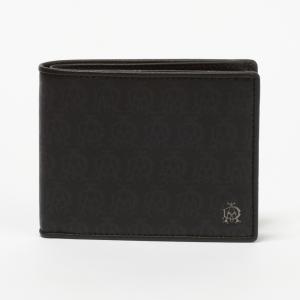ダンヒル 折財布 DUNHILL L2PA32A ブラック ...