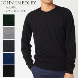 ジョンスメドレー JOHN SMEDLEY メンズ クルーネックセーター FARHILL STANDARD FIT x-sell