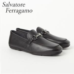 フェラガモ FERRAGAMO 靴 ビジネスシューズ ビット...