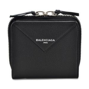 バレンシアガ 財布 折財布 BALENCIAGA 371662 DLQ0N 1000 PAPER ZA BILLFOLD ブラック 【rms】|x-sell