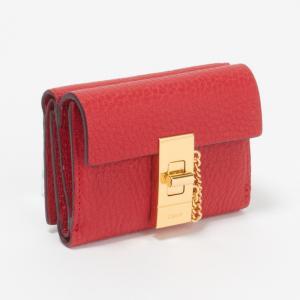 クロエ CHLOE 財布 3P0841-944 B5M PLAID RED 【DREW:ドリュー】|x-sell