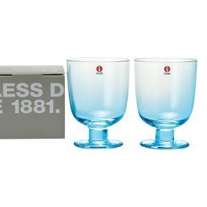イッタラ IITTALA グラス 951172 マウスグラス 350ml ペア ライトブルー レンピ|x-sell