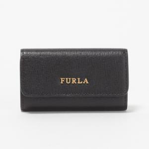 フルラ FURLA キーケース RL71 840072 B30 O60 ONYX 【BABYLON KEYCASE】 x-sell