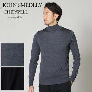 ジョンスメドレー JOHN SMEDLEY メンズタートルネックセーター CHERWELL STAN...