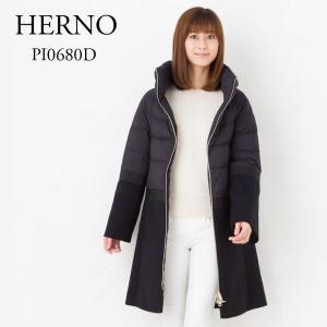 ヘルノ HERNO ダウンコート PI0680D 39601 9300 ブラック x-sell
