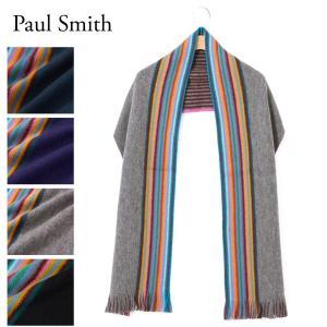ポールスミス PAUL SMITH マフラー 【MEN SCARF MULTI EDGE】 M1A ...
