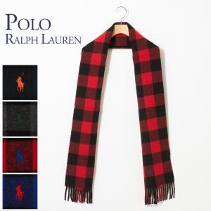 ポロ ラルフローレン POLO RALPH LAUREN マフラー PC0441 選べるカラー