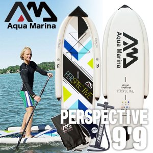 AQUA MARINA アクアマリーナ PERSPECTIVE 9'9 スタンドアップ パドルボード インフレータブル SUPセット ビギナー 初心者向け フィッシング|x-sports