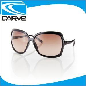 CARVE サングラス レディース ノーマルレンズ アイウェア GRACE Black NOMAL サーフィン スケボー|x-sports