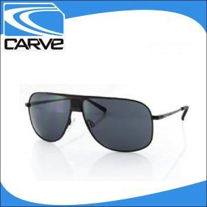 CARVE サングラス メンズ ノーマルレンズ アイウェア Conflict Matte Black サーフィン スケボー|x-sports