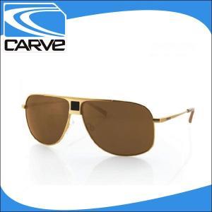 CARVE サングラス メンズ ノーマルレンズ アイウェア Conflict Matte Gold サーフィン スケボー|x-sports