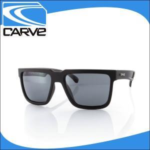 CARVE サングラス メンズ 偏光レンズ アイウェア PHENOMENON matt black POLA サーフィン スケボー|x-sports