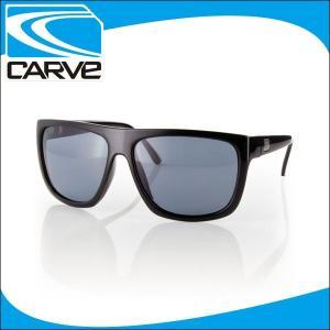 CARVE サングラス 偏光レンズ アイウェア SANCHEZ BK POLA サーフィン スケボー|x-sports