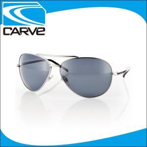 CARVE サングラス 偏光レンズ アイウェア TOP DOG SILVER POLA サーフィン スケボー|x-sports