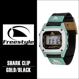 Freestyle サーフィン シャーク 腕時計 SHARK CLIPGD/BK 防水 サーフウォッチ フリースタイル 時計 基本送料無料|x-sports