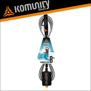 Komunity リーシュコード 8f 8フィート サーフィン ファンボード用 KP 8' STANDARD LEASHサーフボード|x-sports