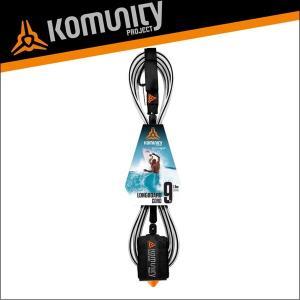 Komunity リーシュコード 9f 9フィート サーフィン ロングボード用 KP 9' LONGBOARD LEASH-7MM-BLACK サーフボード x-sports
