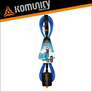 Komunity リーシュコード 9f 9フィート サーフィン ロングボード用 KP 9' LONGBOARD LEASH-7MM-BLUE サーフボード x-sports