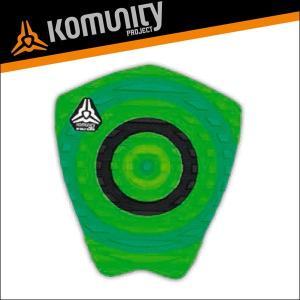 Komunity KS Bullseye Grom 1 Piece With Wax Comb H 1Pデッキパッド Grom WAXコム付 ケリースレーター シグネイチャーモデル 基本送料無料|x-sports