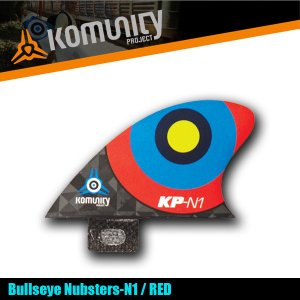 Komunity Bullseye Nubsters-N1 レッド ナブスターフィン ミニ スタビライザーフィン 5プラグ コミュニティ ケリースレーター FCS KELLY|x-sports