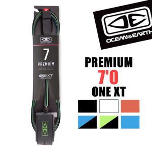 O&E リーシュコード 7f 7フィート サーフィン PREMIUM 7'0 ONE XT LEASH オーシャンアンドアース|x-sports