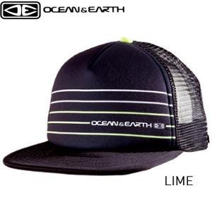 キャップ 帽子 SIMPLE JACK サーフキャップ メッシュキャップ スナップバック 刺しゅうロゴ ブラック サーフィン ライム OCEAN&EARTH x-sports