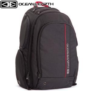 バックパック リュック ウルティメイトサーフ サーフトラベル サーフィン ウェットバッグ 着替えマット付 ポケット充実 ULTIMATE SURF OCEAN&EARTH x-sports