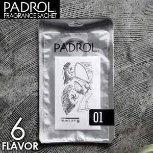 サシェ 袋 フレグランスサシェ PADROL パドロール 芳香剤 ハンガー付き 吊り下げ 香り クローゼット Fragrancesachet 6フレーバー サーファー|x-sports