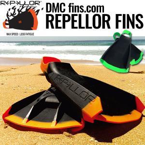 ボディボード スイムフィン リペラーフィン ボディサーフィン BODYBOARD REPELLOR FINS ORANGE/GREEN DMC オレンジ/グリーン|x-sports