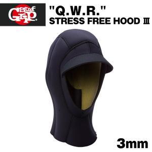 SURF GRIP ラッシュフード 3mm 帽子 サーフキャップ Q.W.R. サーフィン 防寒 x-sports