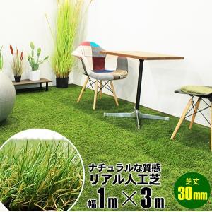 人工芝 100cm×300cm グラス ターフ 自由にカット リアル シート マット 敷物 レジャー ガーデン フェイクグリーンマット 1m×3m|x-sports
