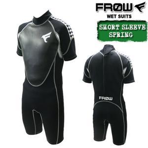 ウェットスーツ スプリング メンズ 2mm ウエットスーツ ダイビング サーフィン FROW x-sports