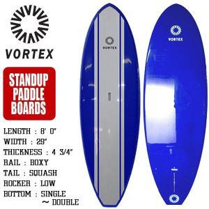 スタンドアップパドルボード SUP サップ 8'0 ブルー フィン付属 サーフィン サーフボード VORTEX|x-sports