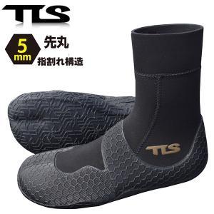 サーフブーツ TOOLS TLS SURF BOOTS SPLIT TOE 5mm 先丸 指割れ構造 ストレッチ素材 サーフィン 冬用 希望小売価格の15%OFF|x-sports