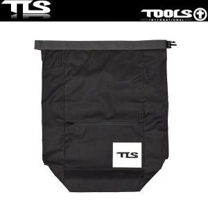 TOOLS 防水バッグ ウェットバッグ 52cm×65cm ブラック ウェットスーツ 水着 TLS ツールス サーフィン 海水浴 x-sports