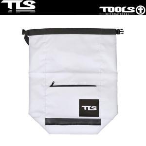 TOOLS 防水バッグ ウェットバッグ 52cm×65cm ホワイト ウェットスーツ 水着 TLS ツールス サーフィン 海水浴 x-sports