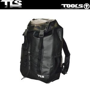 TOOLS 防水バッグ バックパック 27L ブラック ウェットスーツ 水着 TLS ツールス サーフィン 海水浴 x-sports
