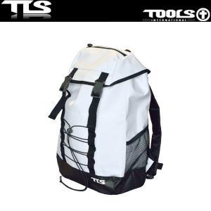 TOOLS 防水バッグ バックパック 27L ホワイト ウェットスーツ 水着 TLS ツールス サーフィン 海水浴 x-sports