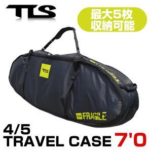 TOOLS サーフボードケース 7'0 ハード 大型 バッグ ファンボード 5本収納可 TLS ツールス サーフィン サーフボード 基本送料無料|x-sports