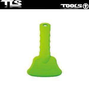 TOOLS フレックススクレーパー ライトグリーン サーフワックス 落とし FLEX SCRAPER TLS ツールス メンテナンス x-sports