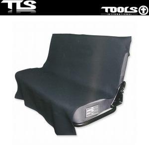 TOOLS シートカバー ブラック リアシート用 防水 ウェット素材 CAR SEAT COVER TLS ツールス 車 ウェットスーツ|x-sports