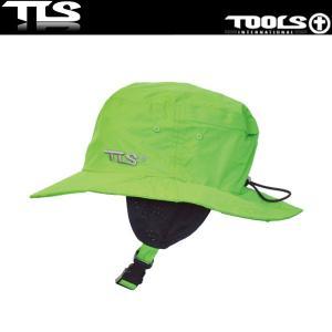 TOOLS サーフハット グリーン ウォーターハット WATER SURF HAT COOL TLS ツールス サーフィン 海水浴|x-sports