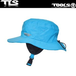 TOOLS サーフハット ブルー ウォーターハット WATER SURF HAT COOL TLS ツールス サーフィン 海水浴|x-sports