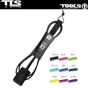 【TOOLS】LEASH TANKER KNEE 10x7mm リーシュコード 膝用 パフォーマンス TLS ツールス ロングボード SUP 10フィート【希望小売価格の10%OFF】|x-sports