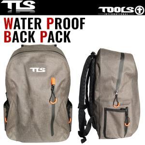 TOOLS WATER PROOF BACK PACK ウォータープルーフバックパック PC専用ケース付 高い防水機能 サーフィン リュック TLS ツールス x-sports