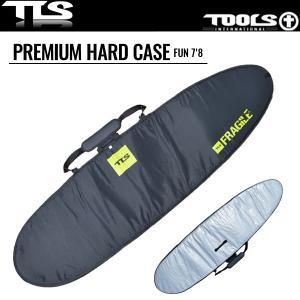 TOOLS サーフボードケース 7'8 ハードケース ベルクロロック ファンボード用 PREMIUM HARD CASE TLS ツールス サーフィン サーフボード|x-sports